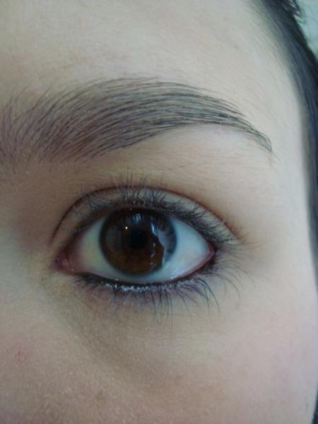 Olhos sem rímel